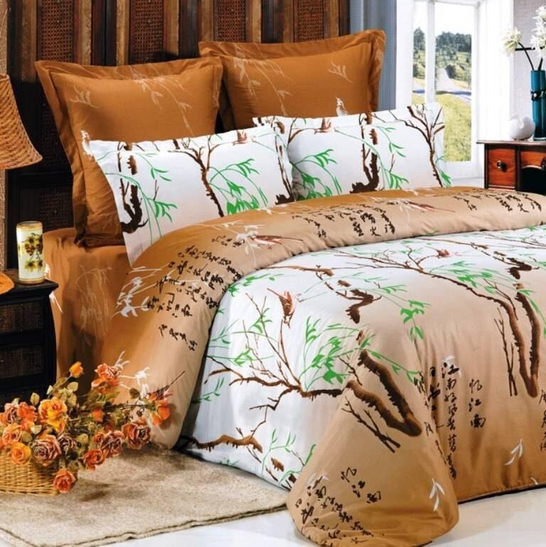 Сатин супер люкс с шелковой вышивкой xs-114la scala, купить постельное белье сатин супер люкс с шелковой вышивкой